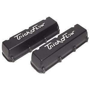 Bbf Tall Cast Aluminum Valve Covers Black Finis