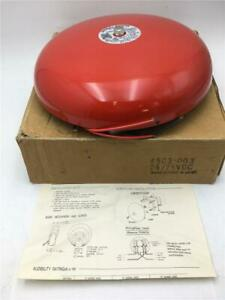 Federal Signal Corp Fire Alarm 10 Gong Polarized And Suppression Type 4503 003