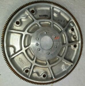 Old Vintage Schiefer Rare Chevy Flywheel 168 Tooth Rat Hot Rod Aluminum
