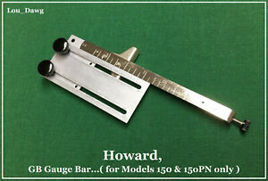Howard Machine Personalizer Gb Gauge Bar Hot Foil Stamping Machine