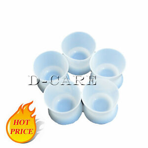 Dental Mixing Dappen Dish Silicone Acrylic Cup Bottom Flexible Non stick Bowl Dc