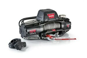 Warn Vr Evo 12 s Standard Duty Winch Synthetic Rope Aluminum Fairlead 12000 Lb