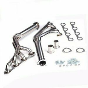 Tri Y Stainless Steel Exhaust Headers For 1964 1970 Ford Sb 289 302 351w Mustang