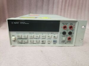 Hp Agilent 34401a 6 1 2 Digit Bench And Systems Multimeter