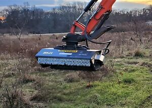 Fixed Mount Compact Excavator Mower Flail Mower