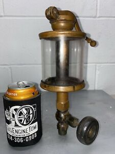 Lunkenheimer Alpha No 6 Oiler Hit Miss Gas Engine Antique Steampunk Brass