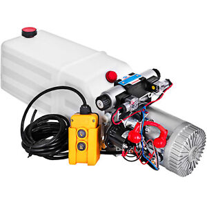 24v Dc Double Acting Hydraulic Power Pack With 8l Zz004237