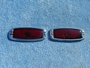 1947 1948 Chevy Fleetmaster Rear Tail Lights Stylemaster