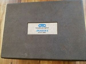 Owatonna Tool Company Otc Monitor 4 Model 3460 Auto Scanner Diagnostic Tool Usa