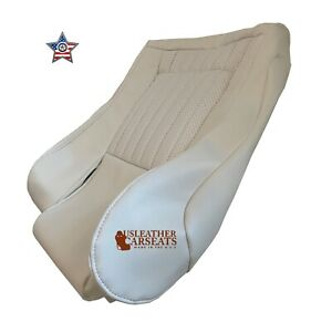 1996 02 Pontiac Firebird Trans Driver Bottom Synthetic Leather Seat Cover White