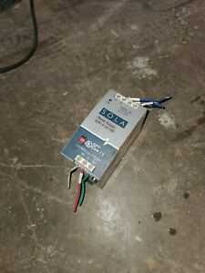 Sola Power Supply Model sdn 4 24 100 24vdc 4a 115 230vac