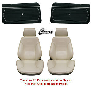 Standard Touring Ii Fully Assembled Seats Door Panels 1969 Camaro Any Color