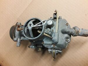 1965 Ford Mustang 1100 Autolite One Barrel Carb Carburetor 200 Eng A T