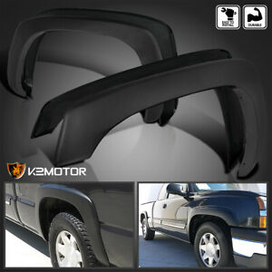 For 1999 2007 Silverado Sierra Factory Style Wheel Cover Fender Flares Protector