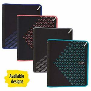 Five Star Zipper Binder 2 Inch 3 Ring Binder Xpanz Color Selected For You 1 Ct