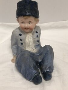 Antique Heubach Dutch Boy Bisque Figurine Germany