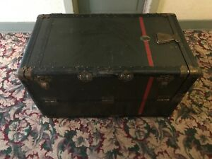 Vintage Winship Steamer Wardrobe Trunk From 1920 S