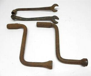 Vintage Model A T Tool Kit Engine Crank Wrency Lug Wrench Used Sold As A Lot