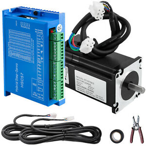 57hse2n Nema 23 Closed loop Stepper Motor 2n m Hss57 Hybrid Servo Driver Kit