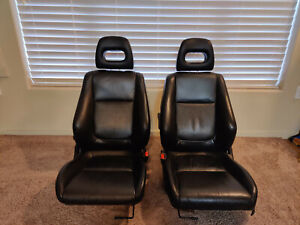 Acura Integra Gsr Leather Seats Front Driver passenger Oem Excellent Condition