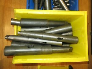 Mt 5 Morse Taper Shank Collets Sleeves Extensions To Morse Taper Mt 5 Mt 4 Mt 3
