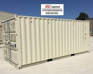 20 Foot New Shipping Container Cargo Container Conex Box Sea Box