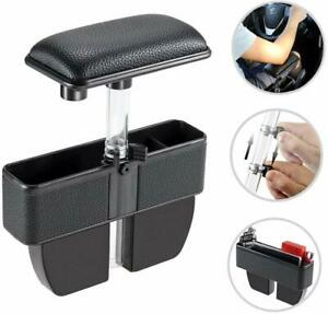 Liler Car Elbow Pads Seat Pockets Car Console Side Organizer Seat Gap Filler