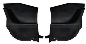 1971 1972 1973 Ford Mustang Fastback Interior Quarter Trim Panels Lower Pair New