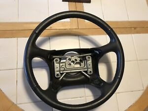 1996 1997 1998 Gmc Sierra Yukon Gt Jimmy Suburban Leather Steering Wheel 96 97