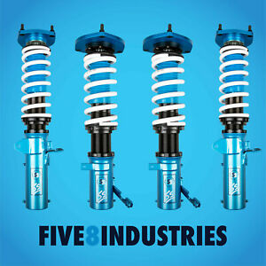 For 93 00 Toyota Corolla Five8 Industries Height Adjustable Coilovers Kits