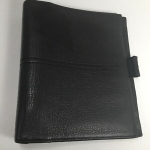 Franklin Covey Classic Full Grain Leather Unstructured Cover Planner Organizer