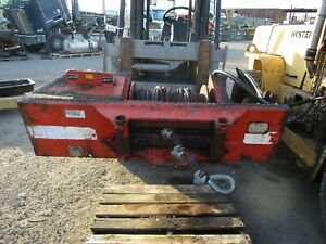 Dp Winch Hydraulic Model 20ubbf3r2g Capacity 20 000lb