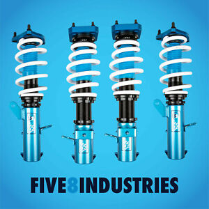 For 91 95 Toyota Mr2 Five8 Industries Suspension Coilovers Height Adjustable