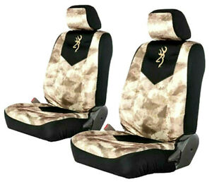 Browning Signature Automotive A tacs Au Camo Low Back Seat Cover Pair 2