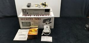 Security Labs Sl820 24 Hr Real 1280 Hr Time Lapse Recorder W remote Cables