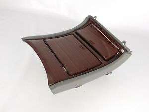 2002 Cadillac Escalade Lower Bezel Center Console Cup Holder Pewter Color Oem