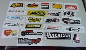 Car Performance Auto Component Racing Equipment Parts Decal Stickers 101