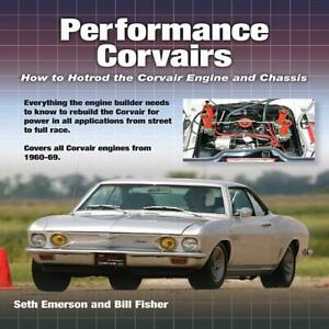 Performance Corvairs How To Hotrod The Engine And Chassis Book 1960 1969 New