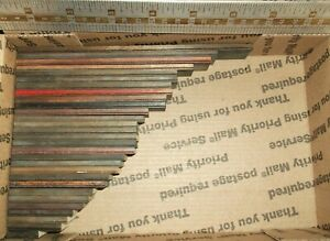 29pc Antique Lot Wood Type Fancy Shaded Ruling border Letterpress Printing Press