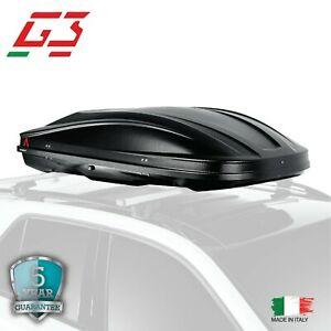 G3 Cargo Box Spark320 Roof Box Top Cargo Carrier Travel Storage Waterproof Small