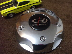 X1 Rota Wheels ranger Aftermarket Custom Suv Truck Chrome Wheel Center Cap