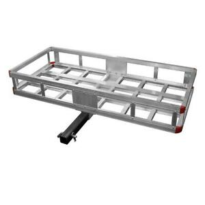 500 Lb Capacity 40 In Aluminum Hitch Cargo Carrier Rust Resistant Speedway