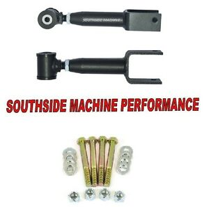 Southside Machine Performance Adjustable Rear Upper Control Arms Mustang 79 04