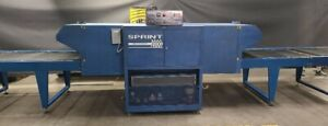 M r Mini Sprint 2000 38 Wide Gas Conveyor Dryer