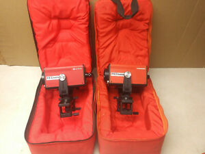 Leitz Sokkisha Red Mini Surveying Units W Padded Cases Perhaps For Prisms