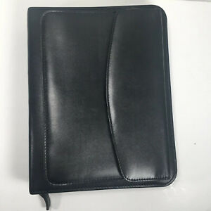 Franklin Covey Classic Full Grain Aniline Leather Planner Large Pocket Organizer