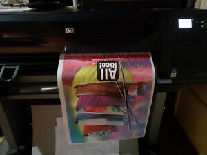 Hp Designjet Z6200 Photo 42 Wide Format Plotter reduced Price Was 4500