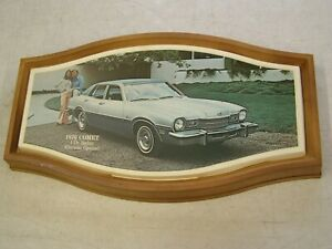 Oem Ford 1976 Mercury Comet Showroom Display Picture