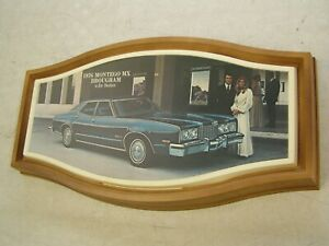 Oem Ford 1976 Mercury Montego Showroom Display Picture