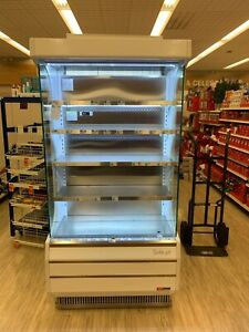 Turbo Air Tom 40w 40 Open Air Grab And Go Used Refrigerator Cooler Display Case